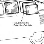 Side Pop-Out Window Seal