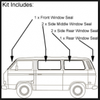 Window Seal Restoration Kit