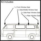Window Seal Restoration Kit (Late)