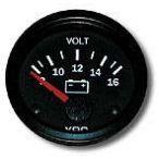 VDO Voltmeter Gauge