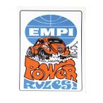 Empi Sticker - Power Rules