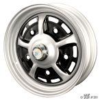5 Lug Sprintstar Wheel 4.5 X 15 Grey Black