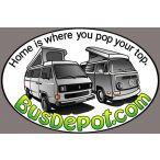 Bus Depot Decal for VW Camper