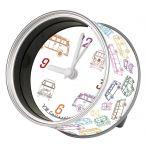 Magnetic or Desk Clock - VW Bus Design