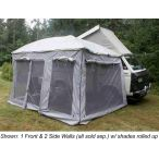 Front Wall for Plus sized Ezy Awning (Gray)