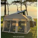 Front Wall for Plus-Sized Ezy Awning (Beige)