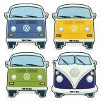 Bus Fridge Magnet - Choice of Colors