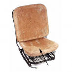 Seat Padding Front Bottom beetle 1956 To 1967