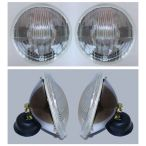 E-Code H4 Headlights with City Lights - PAIR
