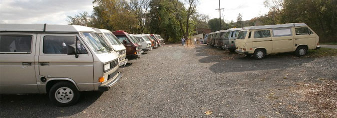 Bus Depot Parking Lot