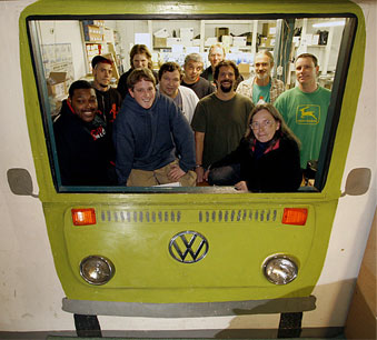 The Bus Depot Group Photo